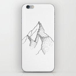Doted Mountain iPhone Skin