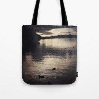 sunrise Tote Bags featuring Sunrise... by Viviana Gonzalez