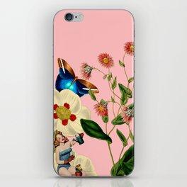 Big Flowers dream pink iPhone Skin