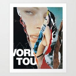 Stays On Tour Art Print