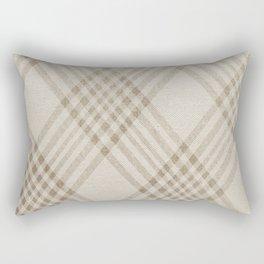 Rich Beige Rectangular Pillow