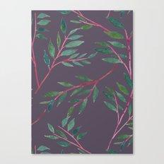 2016 Calendar Print - Red Branch Canvas Print