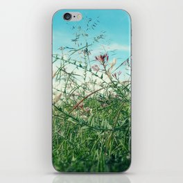 Field Wild Flowers iPhone Skin