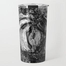 Shapes in wood. Travel Mug