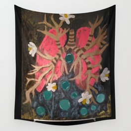 Breathing Life In Wall Tapestry