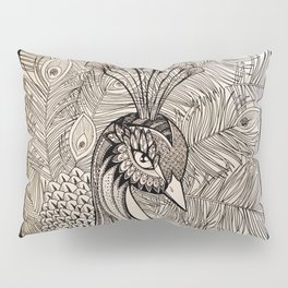 """""""Hope"""" is the thing with Feathers Pillow Sham"""