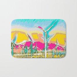 wind turbine Bath Mat