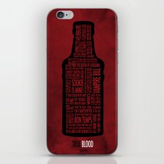 True Blood iPhone & iPod Skin