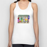 eugenia loli Tank Tops featuring Imaginary Adventure by dorc