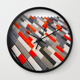 Bold Stairs Wall Clock