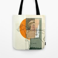 legs Tote Bags featuring Legs by Cut and Paste