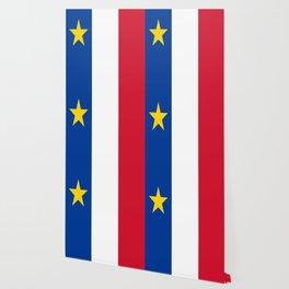 Flag of Acadia / Drapeau de l'Acadie Wallpaper