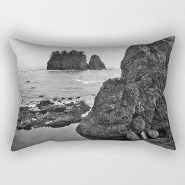 La Push Beach #2 - La Push, WA (3) Rectangular Pillow