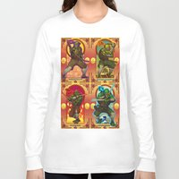 teenage mutant ninja turtles Long Sleeve T-shirts featuring Teenage Mutant Ninja Turtles TMNT by Brian Hollins art