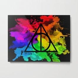 Rainbow Hallows  Metal Print