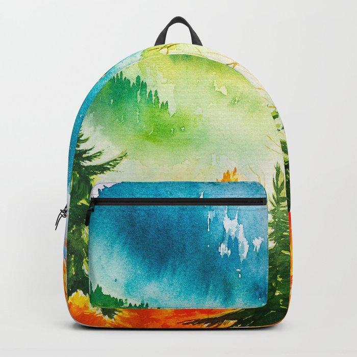 Autumn scenery #6 Backpack