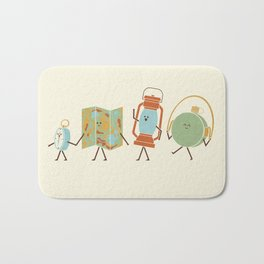 Let's Go On An Adventure Bath Mat