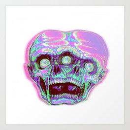 Siamese zombie Art Print