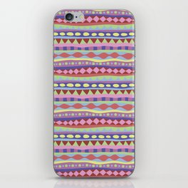 Stripey-Coolio Colors iPhone Skin