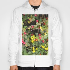 Flower and Berries Hoody