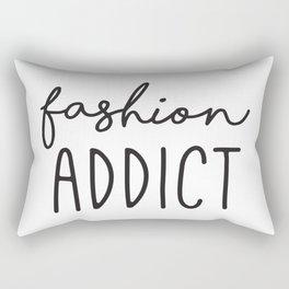 Teen Girls, Room Decor, Wall Art Prints, Fashion Addict, Affordable Prints, Fashion Quotes Rectangular Pillow