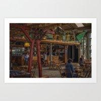 Bar Paniek Art Print