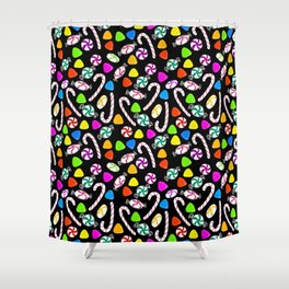Holiday Sweets - Night Shower Curtain