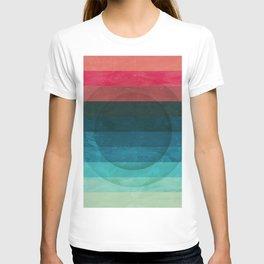 Colors Feels Like We Only Go Backwards - V04 T-shirt