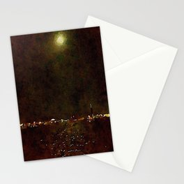 One In The Morning Stationery Cards