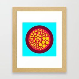 Push Buttons Framed Art Print