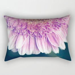 Painted Gerber Daisy Rectangular Pillow