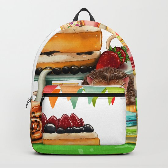 Autumn tea party #2 Backpack