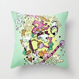 Geostuff Throw Pillow