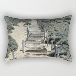 Carol Highsmith - Steps in the Sand Rectangular Pillow