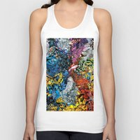 xmen Tank Tops featuring The XMen by MelissaMoffatCollage