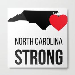 North Carolina strong / Hurricane season Metal Print