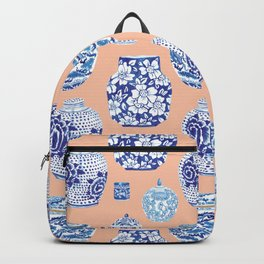 Chinoiserie Ginger Jar Collection No. 1 Backpack