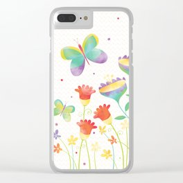 Home in the Summertime Clear iPhone Case