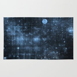 Space and Time Rug