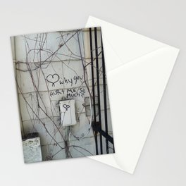 Writing On The Wall Stationery Cards