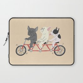 tandem bike Laptop Sleeve