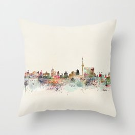 berlin germany Throw Pillow