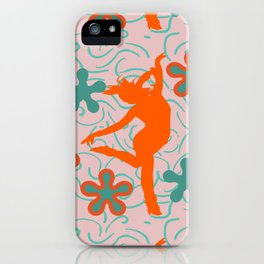 Dancing Daisy iPhone Case