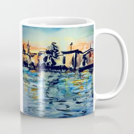 Sunset in Strasbourg Coffee Mug