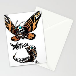 Mothra Kaiju Print Stationery Cards