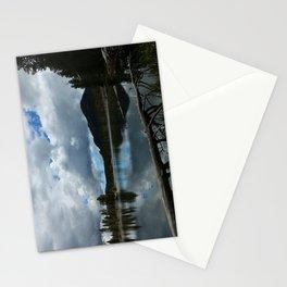 Sprague Lake Cloud Reflection Stationery Cards