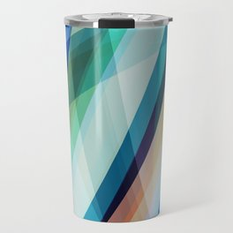 Blue Madness Travel Mug