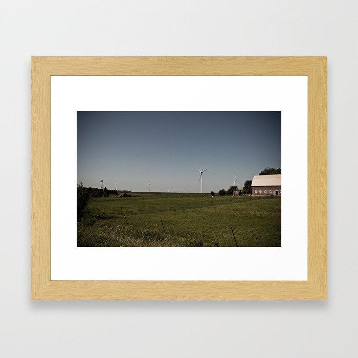 Iowa Wind Framed Art Print