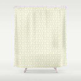 Pine forest pattern Shower Curtain