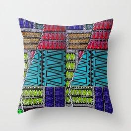 interlocking Throw Pillow